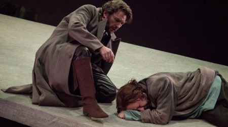Brett Polegato and Lars Cleveman in the Wide Open Opera production of Tristan und Isolde4